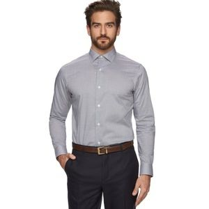 Marc Anthony Textured Dress Shirt